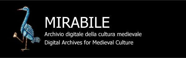Mirabile: Archivio digitale della cultura latina medievale