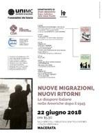 Incontro Nuove migrazioni, nuovi ritorni